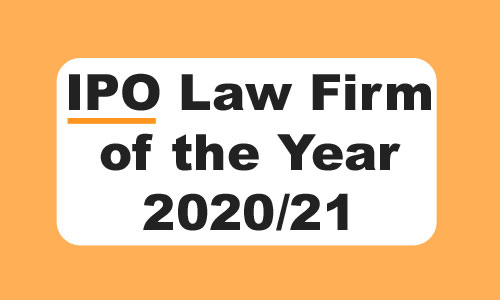 IPO Law Firm of the Year 2020/21